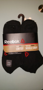Reebok Men's Low Cut Performance Training Socks 6pack size 10-13