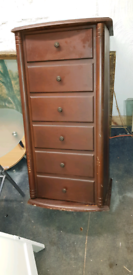 Rotating cupboard good condition but has a few scratches delivery pos