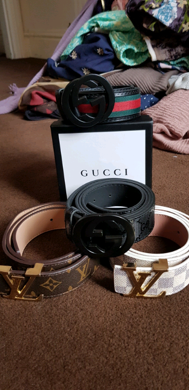 e93e6c587b6 Designer belts lv louis vuitton gucci hermes ferragamo fendi belt | in  Walsall, West Midlands | Gumtree