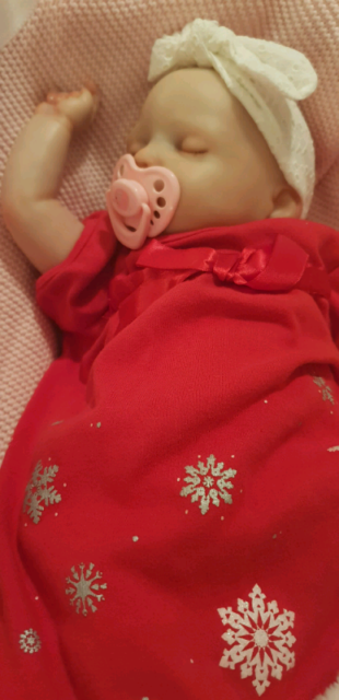 Stunning realistic reborn baby doll | Collectables ...