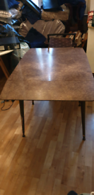 Retro brown table SOLD