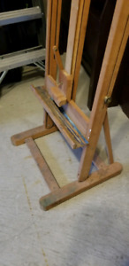 Artist's Painting Easel