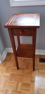 Pier 1 tall wooden table