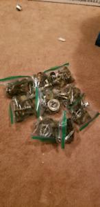 8 sets of passage doorknobs