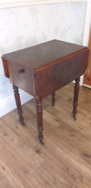 Lovely Small Antique Victorian Drop Leaf Table.
