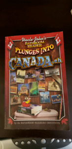 "Uncle John's Bathroom Reader ""Plunges Into Canada "" book"