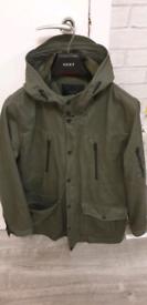 Zara parker style jacket mew xl fit large