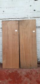 Plywood Doors + Pine Doors