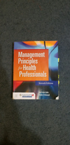 Management Principles for Health Professionals Seventh Edition