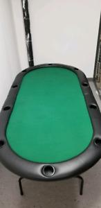 7ft Folding Poker Table