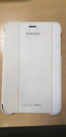 Genuine Samsung Galaxy tab 2 white case