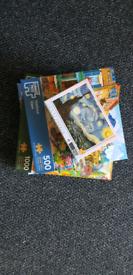 4 jigsaw puzzles