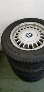 """Winter tires and rims 15"""""""