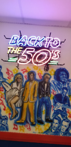 """Neon Light """"Back to the 50's"""""""
