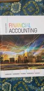 Financial Accounting - 5th Canadian edition