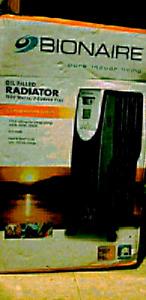 Bionaire Pure Indoor Living Oil Filled Radiator