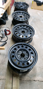 4 Saab/Saturn Winter Rims