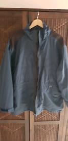 Trespass rain coat
