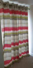 Curtains and Roman blind from Next.