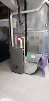 Furnace installations. Rent, buy or finance
