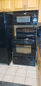 Stove and  microwave oven