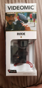 Rode video mic with mount