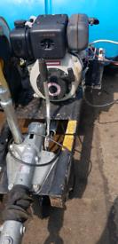 Yanmar diesel power washer water bowser