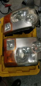 Landrover LR3 HID headlights