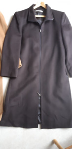Women's Long Dress Coat (New/Never Worn)