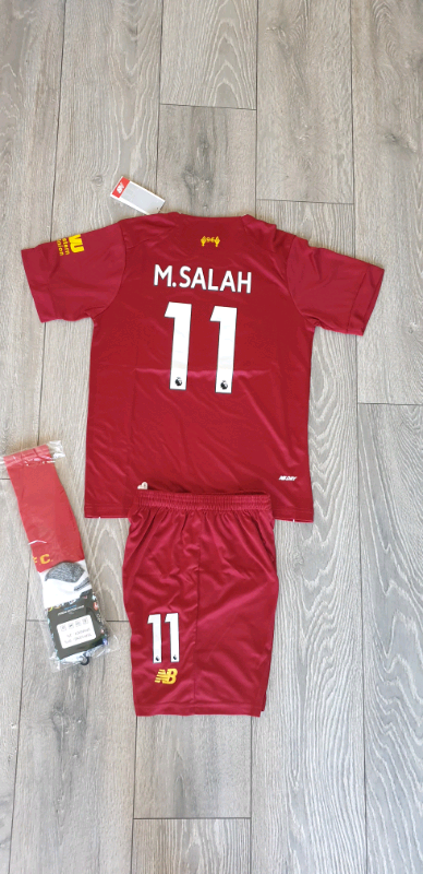new styles 415a8 94e6c 2019/20 Liverpool football kit M.Salah | in Birkenhead, Merseyside | Gumtree