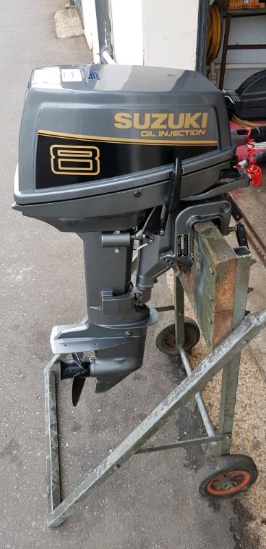 Suzuki DT8 8hp 2stroke s/shaft Outboard | in Lancing, West Sussex | Gumtree