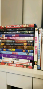 18 DVD movies for ONLY $10