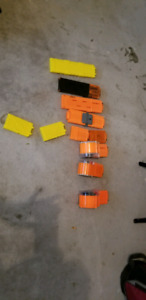 Variety Of Nerf Clips