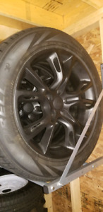 2011-2018 Jeep Grand Cherokee SRT wheels and winter tires