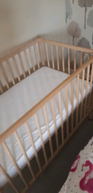 Ikea baby cot beds plus mattress