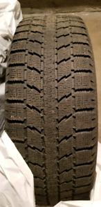 Pneus d'hivers sur roues Toyo Observe GSI-5 - 225/60 R17