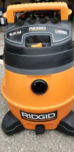 Ridgid 6 Peak 14 gallon wet dry vacuum