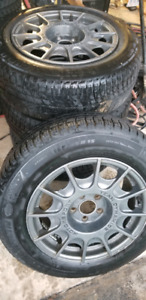 Alloy Rims and Tires (Golf/Jetta)