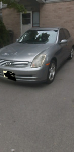 2004 Infinity g 35 luxury 4 dr