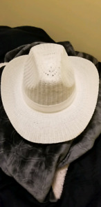 Ladies White Cowboy Hat