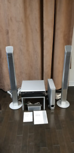 Pioneer Home Theatre System - DVD/CD Receiver, Speakers, and Sub