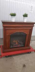 Electric fire place with remote /delivery available
