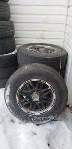 Tires and Rims LT 265/70 R17