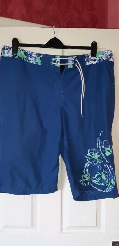566ce923a9 WOMEN'S BLUE RESORT BOARD SHORTS SIZE 18   in Neath ...