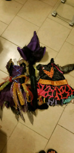 Little girls halloween costumes