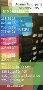 Winter tires  on sale
