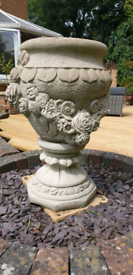 Stone garden planter or water feature