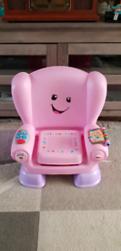 Childrens activity/musical/learning chair
