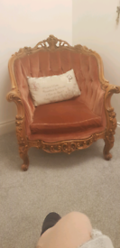 Stunning Ornate French Chair