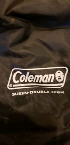 Coleman Queen Double High Airmatress with pump